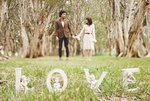 Quirky engagement photography / Engagement photographs but with a difference.