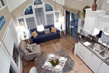 open plan tiny house