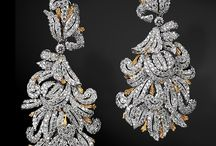 Diamants Boucles d'oreille / by Amal Mazboudi