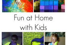 Manualidades y juegos para niños