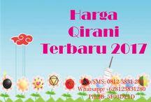 Harga Qirani Terbaru 2017 / harga Qirani Terbaru 2017  Telp/SMS: 0812-3831-280 Whatsapp: +628123831280 PinBB: 5F03DE1D