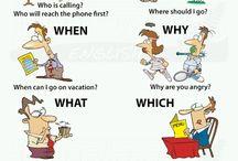 Engelska - Question words