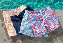 Men's Swimwear, Swim Shorts & Trunks / Stylish men's swimwear, swim shorts and swim trunks from Mensfash. Poolside or at the beach you'll look great in these!