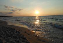 Krajobraz / Zachód słońca