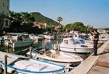 Les ports, les plages, la Méditerranée...