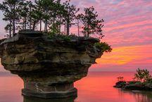 Michigan / Turnip rock