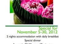 Special Promotions @ The Spa Resorts / Special Promotions @ The Spa Resorts Chiang Mai
