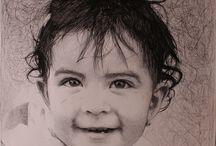 Retratos & Dibujos a carboncillo