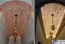 Before and After / Some of our #beforeandafter projects! Get inspired to make your spaces beautifully illuminated today!