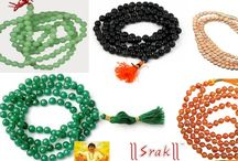 ALL TYPE BEADS MALA / Mala Beads  Assorted Mala beads – Over 50 varieties  108+1 bead malas  Suitable for Japa and for Wearing  Wood & Seed beads for Yoga & Meditation  Semi precious Stone Malas for Energy & Chakra healing.  Bracelet options available.  More User ratings than anywhere else