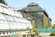 Významné a historické skleníky - Significant historical and greenhouses