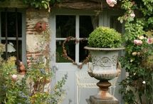ornamenting the garden