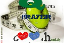 Quran Prayers for Good Health / Muslim prayer for good health,achi sehat ke liye dua,life long health in islam,sehatyab rehne ka asan amal,Fitness in Islam, Cure from 99 disease in islam