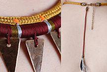 my jewelery / Biżuteria autorska, wykonana przy wykorzystaniu materiałów pozyskanych z recyklingu, odzysku.