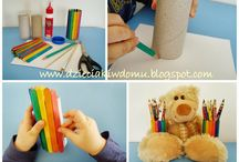 popsicle stick crafts - projekty z patyczków kreatywnych / Popsicle stick craft ideas for kids / pomysły na prace techniczne i zabawy dla dzieci z kreatywnymi patyczkami