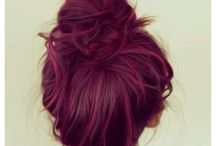 Hair inspiration / The colors, the cuts and the do's that I either LOVE or want.