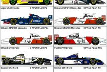 Forma 1 cars
