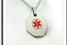 Men's Necklaces / Mens medical ID Necklaces