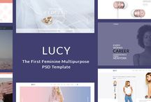 LUCY - Female Readers Focused - Multipurpose PSD Template / LUCY is the first and second to none feminine multipurpose psd template on ThemeForest. The template is designed with 7 home pages and beautiful sample pages. Stay tune with more updates from us.