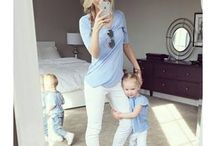 Mommy and Toddler Outfits