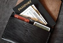 leather wallets & cases