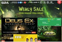 game sell / New promotion with 50% lover price .  By new game for beter price.