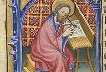 St. Matthew's Gospel / Matthew presents his story of Jesus, the demands of Christian discipleship through the ministry, but particularly through the death and resurrection of Jesus. If possible, also include the Bible passage so we can all learn together about St Matthew (Liturgical Year A). I'll be removing any pins that have other Biblical references