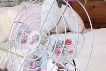 Shabby Chic Fans / Shabby Chic Fans of both kinds!