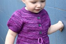 strikkede babyklær