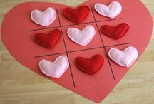 Valentines, things for FEB. 14 / Heart crafts / by Rebecca Rogers