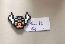 Hama creations / Hama beads made into your favourite characters