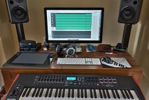 music studio office
