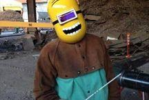 Welding helmet design