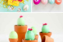 Easter DIY Ideas & recipes / All the creative ideas,craft, DIYs and Easter recipes for a perfect family Easter in your home.