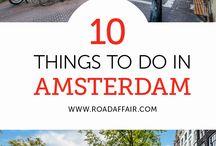 Amsterdam Travel / Amsterdam Inspiration