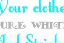 Whiten clothes