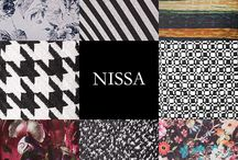 NISSA Patterns Collections / New fashion trends from NISSA material patterns.