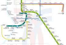 mapa BTS (sky train) Bangkok