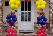 Baloes decorações