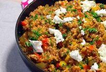 gehaktpannetje met rijst