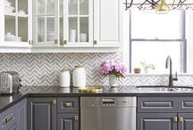 Home - painting kitchen cabinets