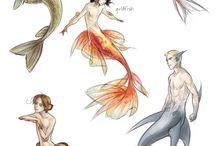 Mermaids and water babies