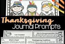 Thanksgiving ELA and Math Resources / Thanksgiving activities, resources and fun ideas for the upper elementary classroom.