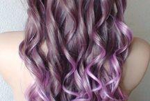 Purple Hair Inspirations / by Shawonika Green