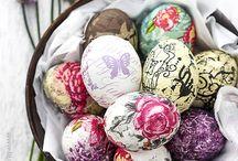 oua pentru paste