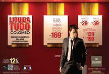 Colombo | Promoção / Liquidação Camisaria Colombo