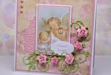 Kartki na chrzest święty/Christening cards / card, cards, chrzest, pamiątka chrztu świętego, Christening, baptism