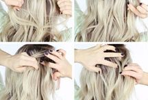 HAIR STYLES STEP BY STEP