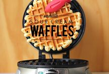 Waffles! / You can find all the yummy Waffle Recipes you need.
