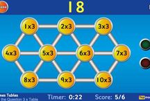 Maths times table games / times tables